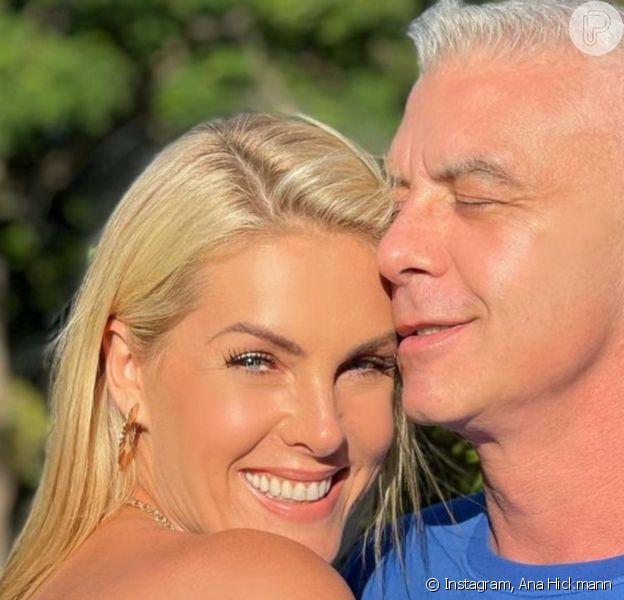Ana Hickmann ganhou homenagem do marido, Alexandre Correa, pelo seu aniversário de 40 anos: