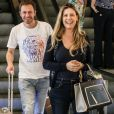 Daiana Garbin e Tiago Leifert se tornaram pais de Lua há 4 meses