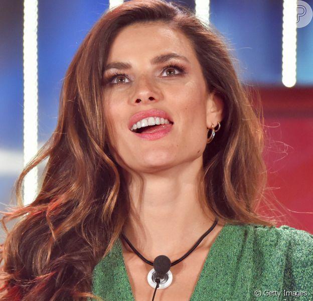 Dayane Mello, modelo brasileira, está na final do