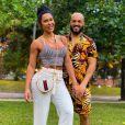 Gracyanne Barbosa, mulher de Belo, respondeu fã sobre peso e altura