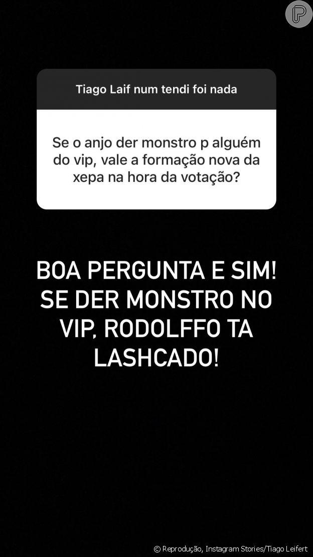 Tiago Leifert comenta Paredão Fake e tira dúvidas de fãs
