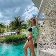 Virgínia Fonseca está grávida de 7 meses da primeira filha com Zé Felipe e planeja dar à luz no exterior