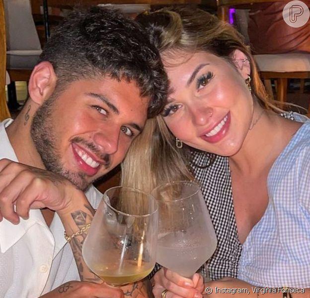 Virgínia Fonseca surpreende Zé Felipe com alianças do casamento