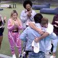 'BBB21': Rodolffo abraça Caio ao ser eliminado e dá seu boné para garantir a visita do novo amigo em sua casa