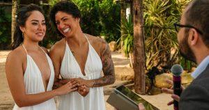 Bem vindo, Bento! Cris Rozeira anuncia nascimento do 1º filho com Ana Paula Garcia