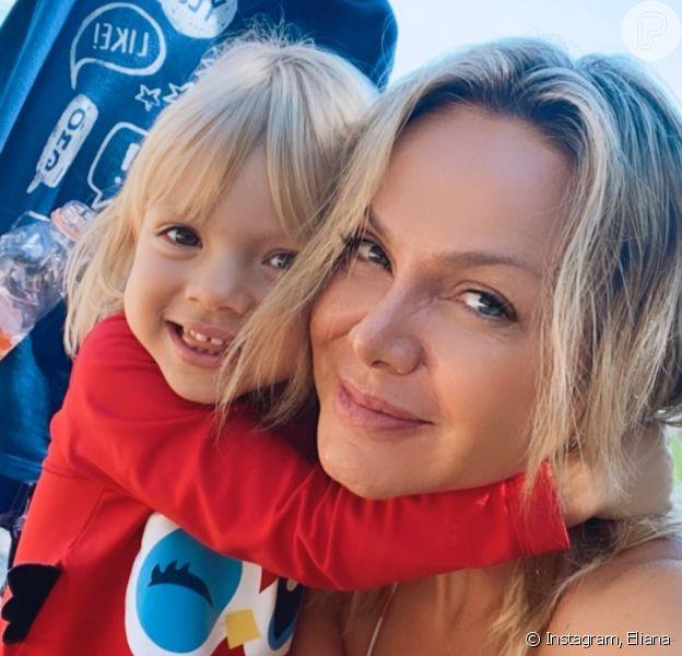 Eliana flagra confusão da filha, Manuela, sobre seu nome: