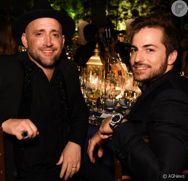 Marido de Paulo Gustavo, Thales Bretas desabafa com foto ao lado do ator, em 3 de abril de 2021
