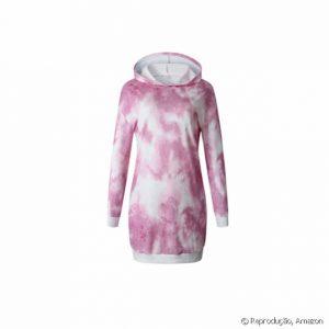 Vestido com estampa tie dye é trend e está disponível na Amazon