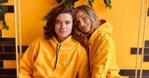 Sasha Meneghel e o marido, João Figueiredo, combinam looks em viagem de lua de mel: